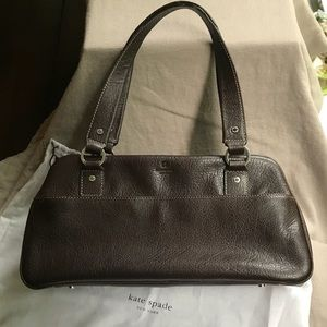 Kate Spade perfect condition brown leather bag